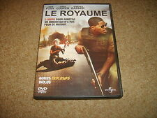 DVD LE ROYAUME avec Jamie Foxx - VF VOSTFR - Très bon état