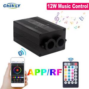 Twinkle Fiber Optic Light Engine Bluetooth APP Music Control Car Star Ceiling
