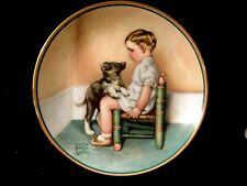 """BESSIE PEASE GUTMANN COLLECTOR PLATE-""""SYMPATHY"""" 1986"""