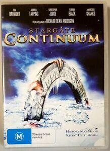 Stargate: Continuum (DVD) Ben Browder & Amanda Tapping (Australian Region PAL)