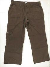 Gap Women's Size 10 Brown Cropped Chino Pants