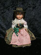 Sehr seltene alte Trachten Puppe von Cellba aus Sammlungsauflösung Nr. 2