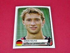 84 S. ROLFES BAYER 04 LEVERKUSEN UEFA PANINI FOOTBALL CHAMPIONS LEAGUE 2005 2006