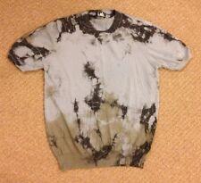 Lab PAL ZILERI cotton jersey t-shirt top blue Size Italian 48