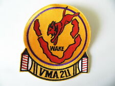 US NAVY PATCH USN USMC Marine Corps VMA-211 Marine Fighter Squadron Wake Island
