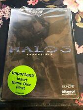 Halo 3 Essentials DVD XBOX 360 Bungie Games Microsoft - New/Sealed