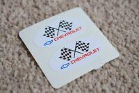 CHEVROLET Racing Motorsport Race Rally Car Race Decal Sticker Logo White 50mm