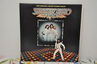 RSO RS-2-4001 Original Movie Soundtrack - Saturday Night Fever 1977 Double LP