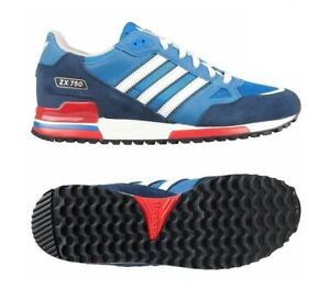 Adidas Mens Originals ZX750 Trainers Sports Running Shoes Suede Casual Sneakers