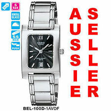 Stainless Steel Case Rectangle 50 m (5 ATM) Wristwatches