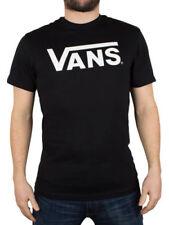 Magliette da uomo casual neri aderenti