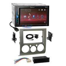 Pioneer USB Multimedia Silver Stereo Dash Kit Harness for 04+ Mitsubishi Galant