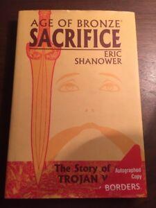 Age of Bronze Sacrifice #2 AUTOGRAPH COPY Hardcover W/jacket.