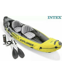New listing Intex Explorer K2 Kayak 2 Person Inflatable Canoe Boat NEW!✅ NEXT DAY P&P 🚚