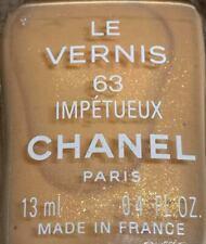 chanel nail polish 63 Impétueux rare limited edition vintage 1990s