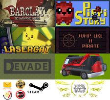 Jump Pirate+Barclay+Devade+LaserCat+PuppyStory+SmashZombies PC Digital STEAM KEY