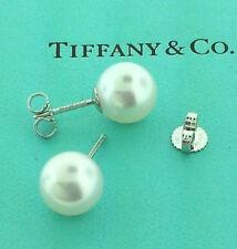 Tiffany Co Akoya Pearl 8 5 9mm Earrings 18 K White Gold 1 400