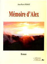 Livre mémoire d'Alex Jean-Pierre Poisot book