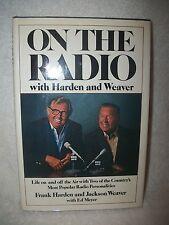 Frank Harden & Jackson Weaver On The Radio Autograph Book Smokey The Bear Voice