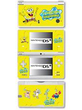 SPONGEBOB SQUAREPANTS VINILE aderente Adesivo per Nintendo DSi