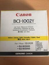 Genuine Autentico CANON BCI-1002Y Cartuccia di Inchiostro Giallo 42 ML BJ-W3000 BJ-W3050