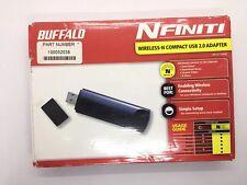 Buffalo WLI-UC-G300N Wireless-N 300Mbps 802.11n/g/b WIFI USB Adapter - FREE ship