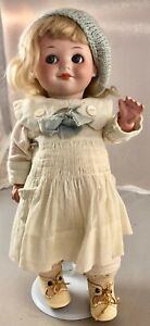 "11"" Antique German Bisque Head Googly Doll! Rare! Beautiful! 18009"