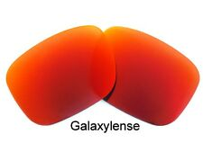 Oakley Replacement Lenses For Holbrook Fire Red Color Polarized 100% UVAB