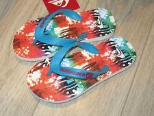 Quiksilver Java Little Boys Flip Flops Sandals Shoes 12