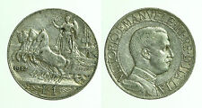 pci0440) Regno Vittorio Emanuele III Lire 1 Quadriga Veloce 1912