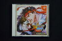 Complete Capcom vs. SNK Japanese Sega Dreamcast NTSC-J Free Shipping