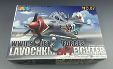 Tiger Model 107 WWII Soviet Lavochkin La-7 Fighter [Cute Series]