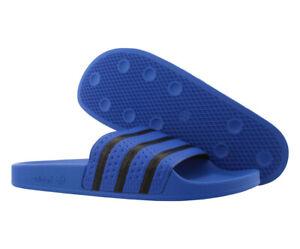 Adidas Adilette Comfort Slide Mens Sandals Size 11, Color: Blue/Black
