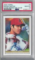 SHOHEI OHTANI 2020 Topps Living Game Within The Game #7 PSA 10
