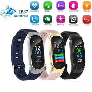 Women Man Smart Watch Sport Fitness Activity Tracker Bracelet For iPhone Samsung