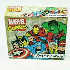 Marvel Comics Trivia Game (Marvel Superheroes) MINT! New Open Box