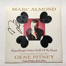 MARC ALMOND - SOMETHING'S GOTTEN HOLD OF MY HAND SIGNED 12'' RECORD AUTOGRAPHED