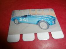 plaquette publicitaire métal COOP L'Auto à Travers les âges GORDINI 1954