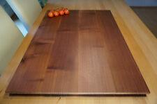 Schneidebrett Tranchierbrett Küchenbrett Hackbrett Holz Akazie 80 x 60 x 5 cm