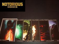 Blackcross 1-6 Complete Project Superpowers Comic Lot Set Cover D Excelsior Bin