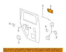 Hummer GM OEM 03-09 H2 Rear Door-Handle Outside Exterior Left 25845864