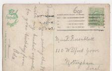 Miss R Rosenblatt Wilford Grove Nottingham 1907 383a