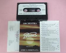 MC ORCHESTRA I PEONES vol.1 Amica serenata italy SB 006 no cd lp vhs