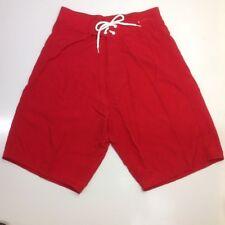 "Supplex Nylon Boardshort Swim Trunk 10"" sz 26, 28 Kids Boy Small"