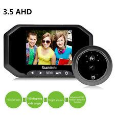 LOT 12 LCD Digital Peephole Viewer 160°Door Eye Doorbell Video Color IR Camera