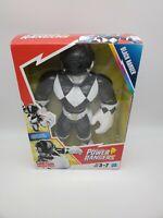 "Hasbro Playskool Heroes POWER RANGERS Black Ranger Action Figure 10""  NIB"
