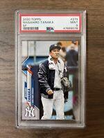 2020 Topps MASAHIRO TANAKA SP New York Yankees 279 PSA 9