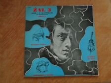 ZAL 3 Jazz-Paraphrase thèmes de Chopin ( blue cover ! ) lp