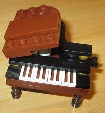 Lego City - Friends - 1x Flügel Klavier - Musik in Schwarz-Braun