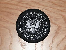JOEY RAMONE - JOEY SEAL (NEW) SEW ON PATCH OFFICIAL BAND MERCHANDISE